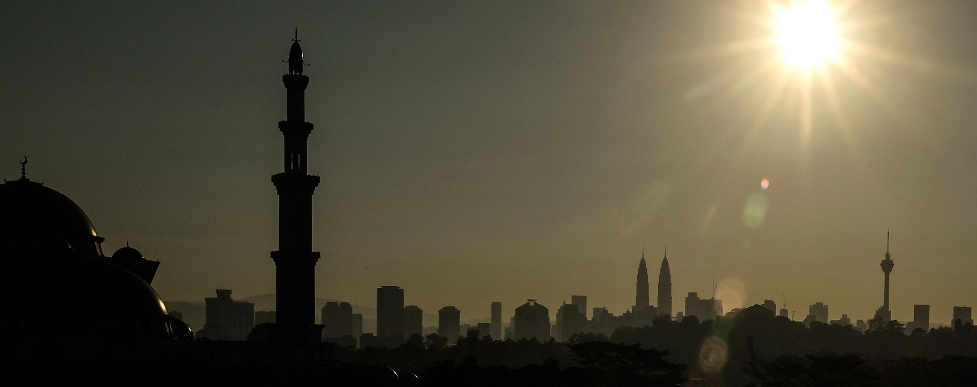 The Wilayah mosque in Kuala Lumpur. Photo: AFP
