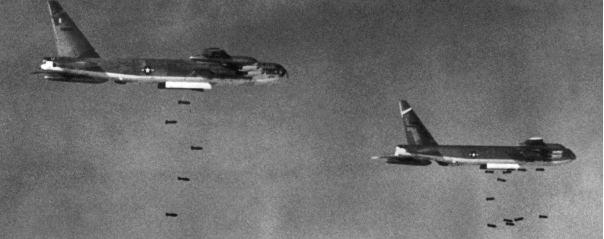 US B52s bomb South Vietnam in 1965. Photo: AFP