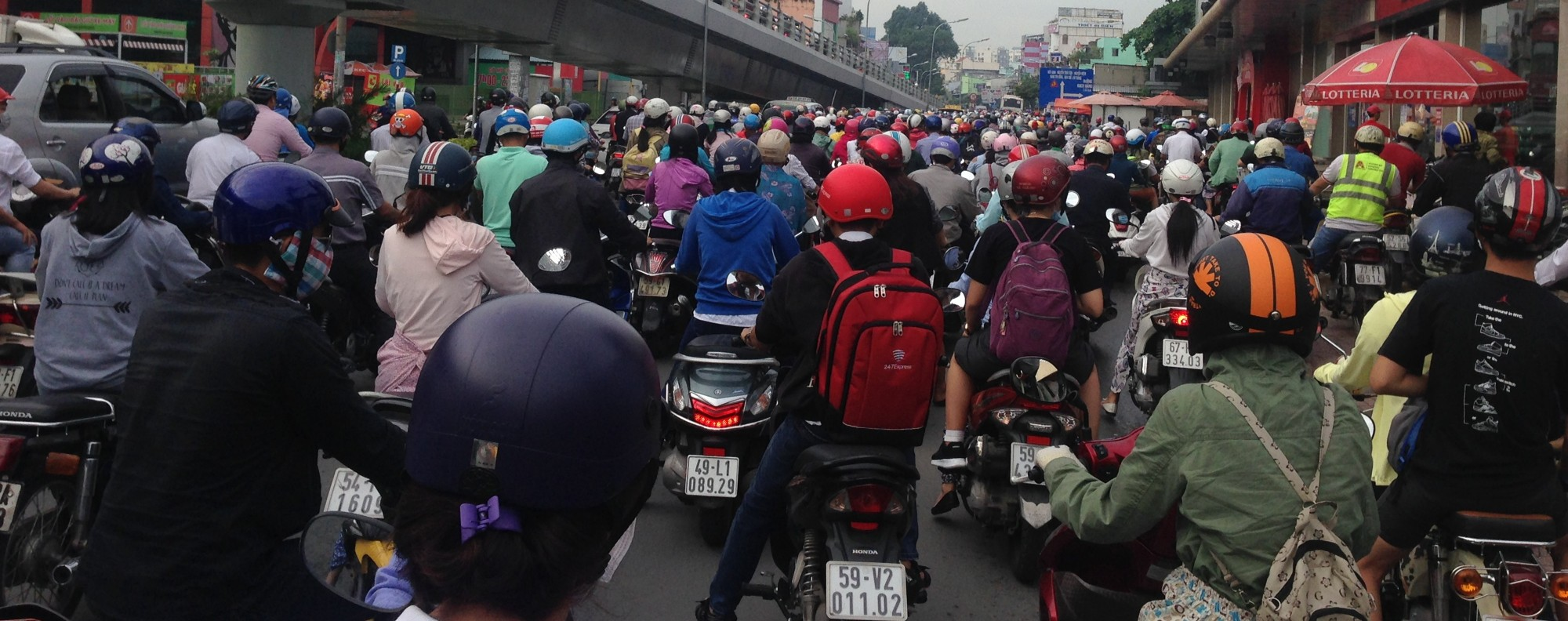 The bustling streets of Ho Chi Minh City. Photo: Karim Raslan