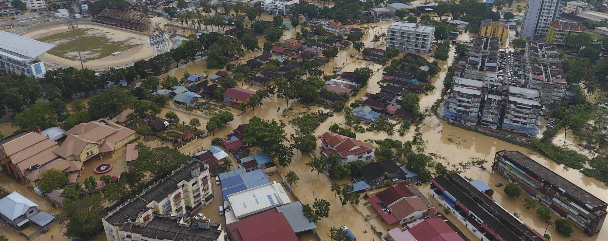 George Town city in Penang. Photo: AP