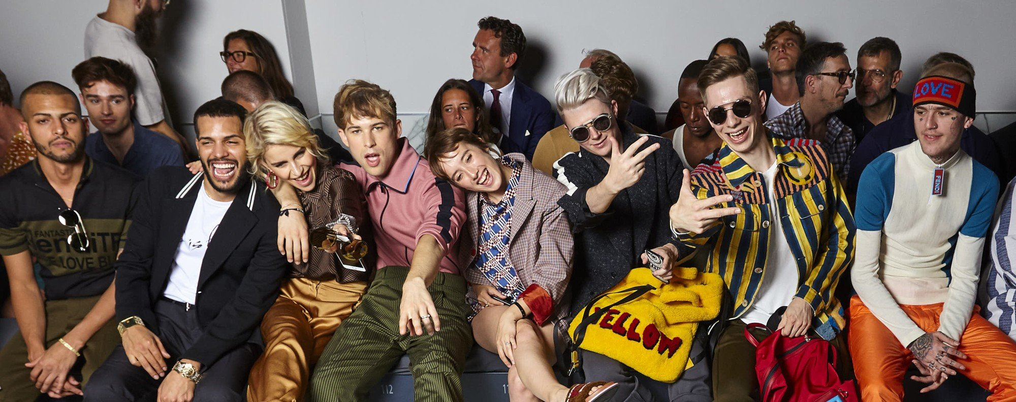 Millennials took part in Fendi's 'F is For' campaign.