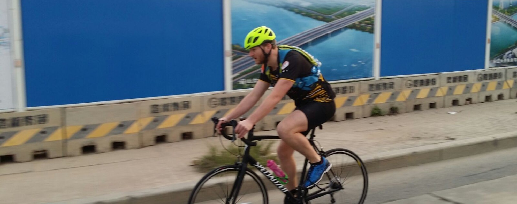 Cycling 160km through China, from Zhuhai to Chikan. Photos: Mad Dogs