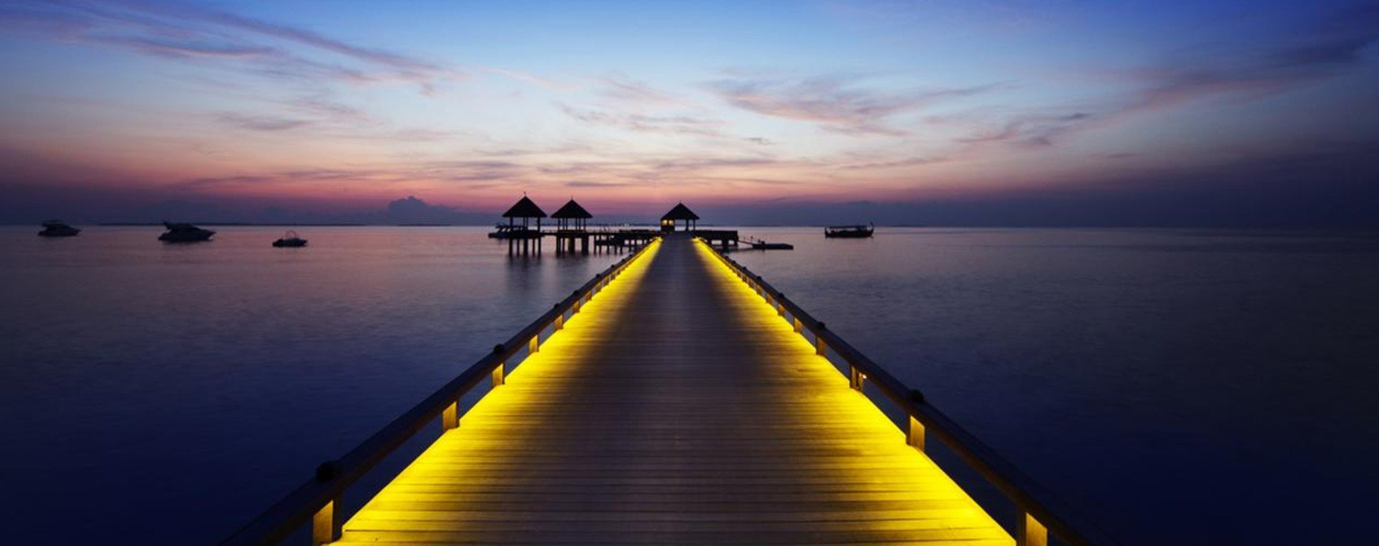 The JA Manafaru resort, in the Maldives.