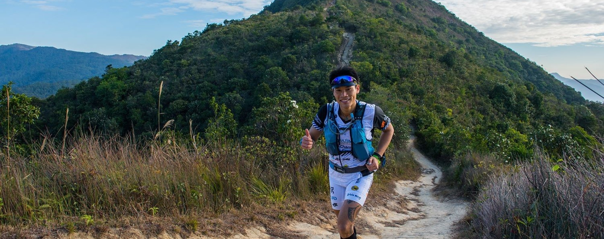 Wong Ho-fai is a good runner because he took to the trails to escape reality. Photos: Handout