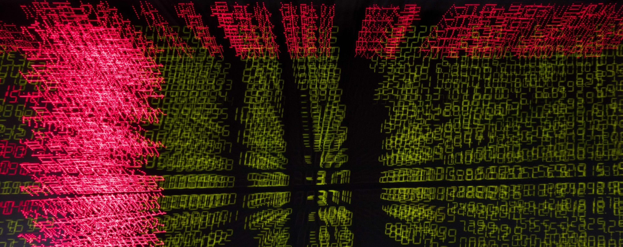 All a blur: Stock price movements. Photo: AFP