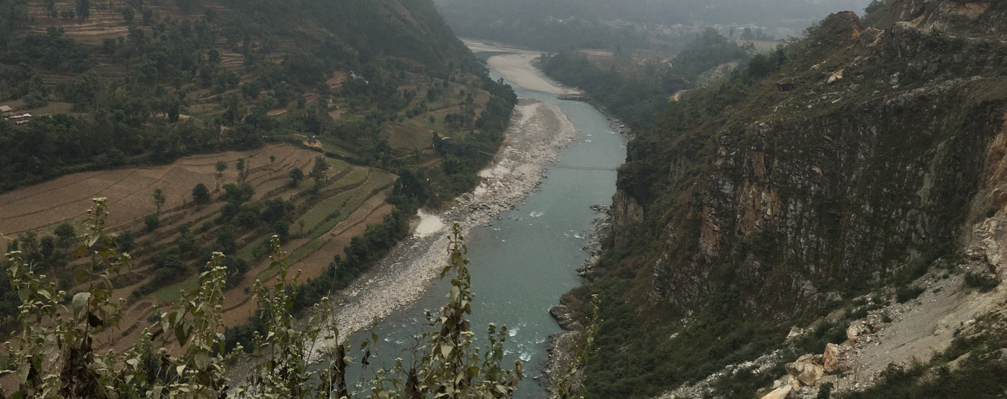 Site for the proposed Budhi Gandaki Hydropower Project in Nepal.