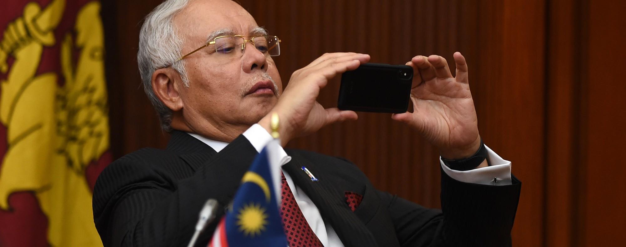 Malaysian Prime Minister Najib Razak. Photo: AFP