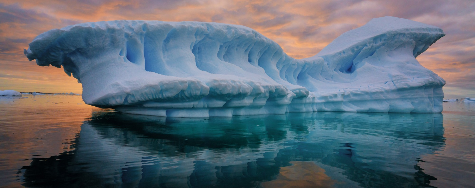 An iceberg in the Lemaire Channel, Antarctica. Picture: Keith Ladzinski