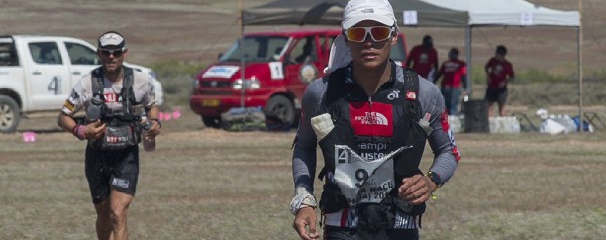 Wong Ho Chung leads Garcia Beneito Vicente, but ultimate succumbs to the Spaniard's experience. Photos: 4 Deserts Race Series