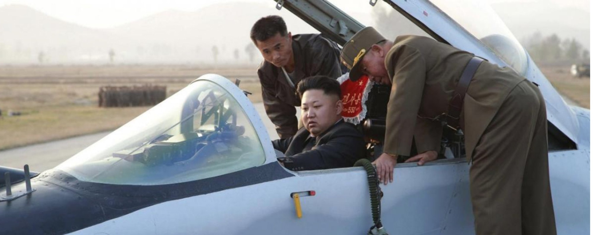 Kim Jong-un prepares to come out fighting. Picture: Reuters