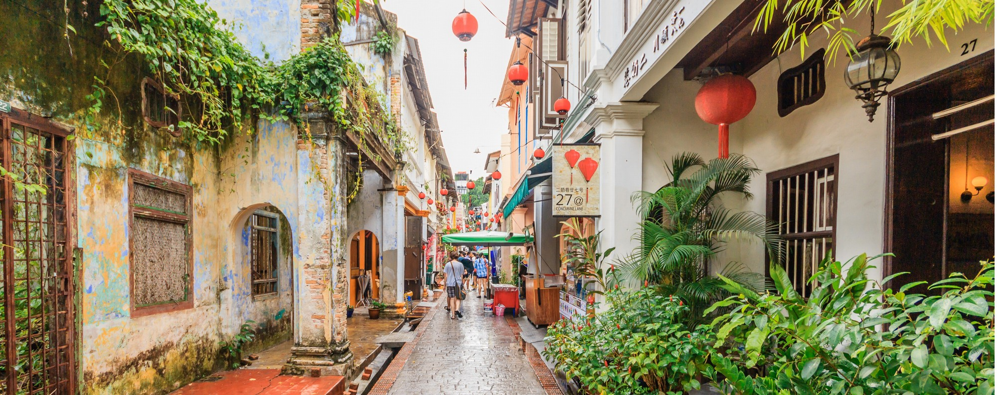 Concubine Lane is one of Ipoh's prettiest streets.