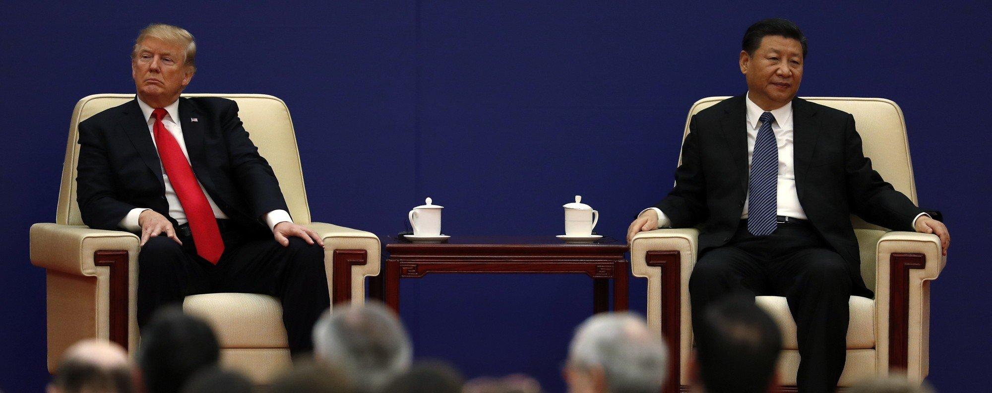President Xi Jinping and US President Donald Trump. Photo: AP