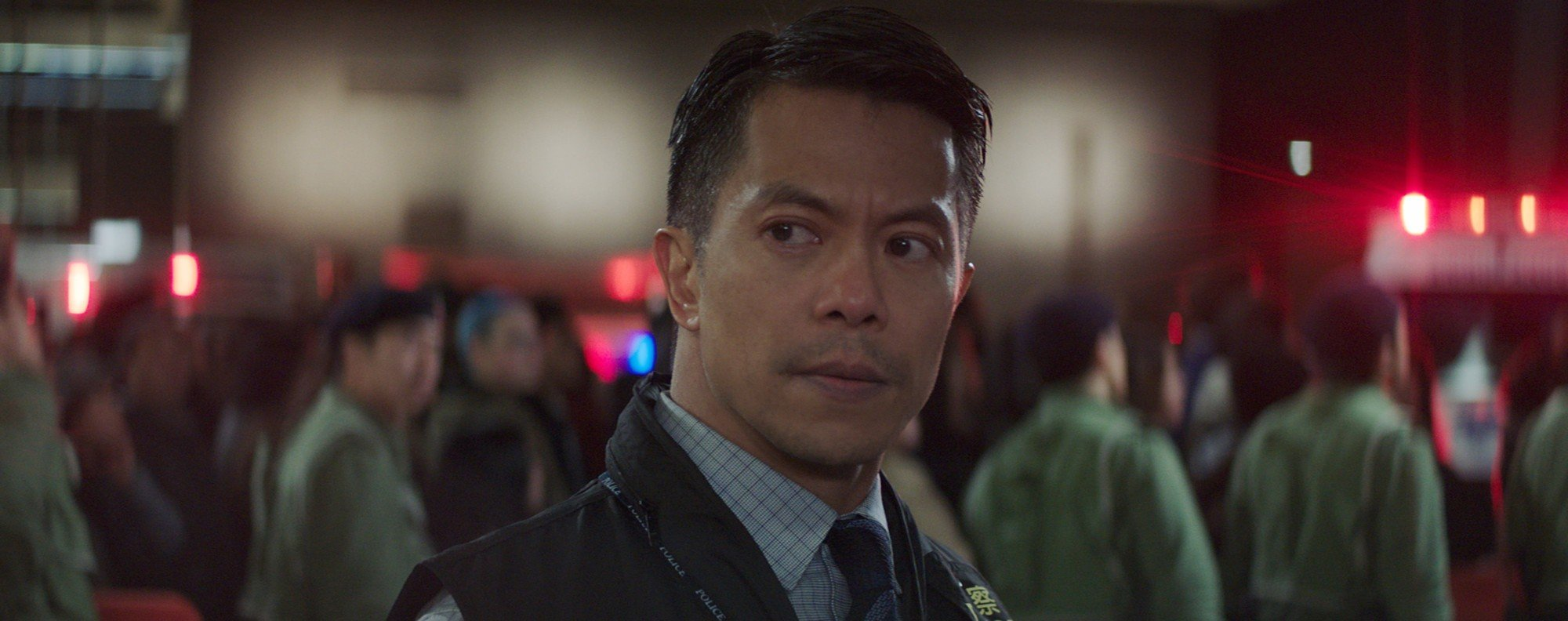 Byron Mann in Skyscraper. Picture: courtesy of Universal Pictures