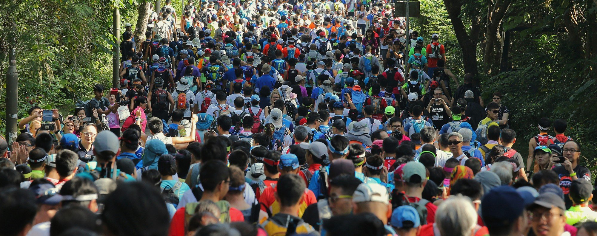 Oxfam Trailwalker is the oldest race in Hong Kong, but has become one of many in recent years. Photo: Dickson Lee