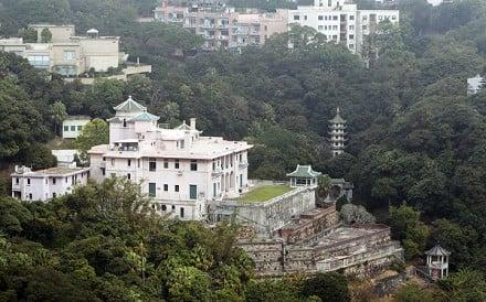 Ho Tung Gardens at 75 Peak Road. Photo: Sam Tsang