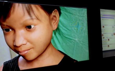 """Sweetie"", a virtual Filipina girl. Photo: AP"