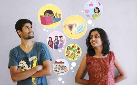 Menstrupedia founders Aditi Gupta and her husband Tuhin Paul.