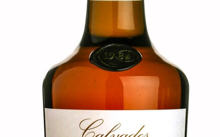 Calvados Pays d'Auge from Christian Drouin.
