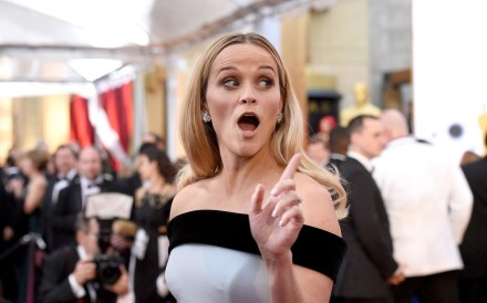 Reese Witherspoon at the Oscars. Photo: AFP