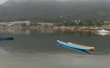 Tai Mei Tuk in Sai Kung is the starting point for Simon Wan's kayaking trip.