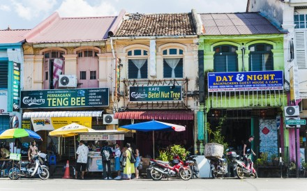 Little India, in George Town.