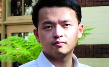 Tianjin University professor Zhang Hao was released on bail in the US in July. Photo: SCMP Pictures
