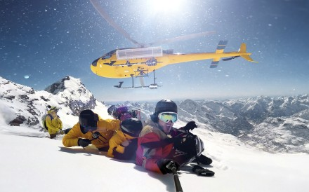 Heliskiing is not always as expensive as you might think, with trips in Spain's Pyrenees for under HK$ 1,700 per head, for instance. CLICK TO LAUNCH BIG PHOTO GALLERY