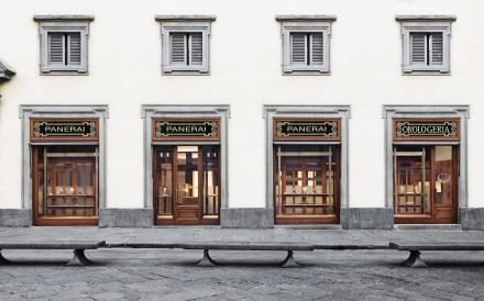 Panerai boutique in Florence, Italy.