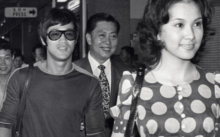 Black and white file photo of actor Bruce Li [Bruce Lee Siu-lung], 3 Sep 71.