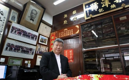Funeral operator Kenneth Leung says the city could face a shortage of 400,000 urn spaces by 2023 if nothing is done. Photo: Bruce Yan