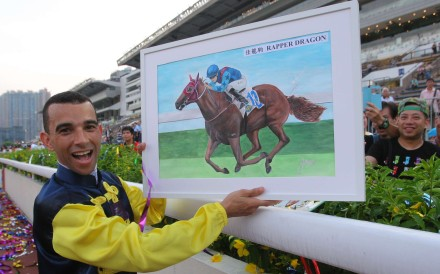 Joao Moreira once again dominated to win his second jockeys' championship. Photo: Kenneth Chan