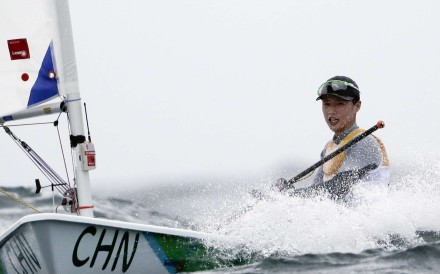Huang Jianxiang did not name the subject of his Weibo post, but netizens believe he was referring to laser radial sailor Xu Lijia, the defending Olympic champion who finished a disappointing 18th in Rio