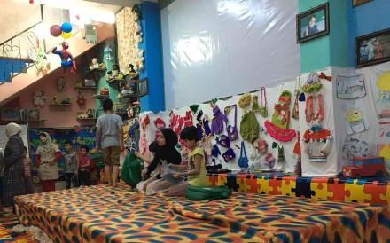 アレッポで卓越したみんな孤児院の内部。 写真:博士Zaher Sahloul