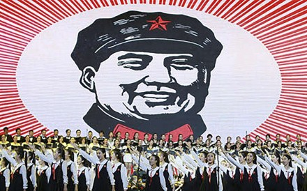 "A show in Beijing celebrates ""Red Songs"" from the Cultural Revolution era. File Photo"