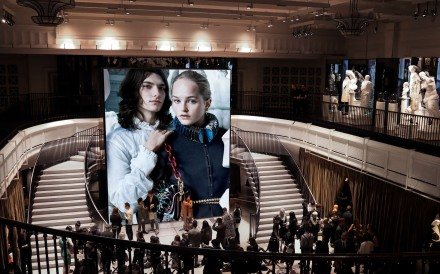 Burberry shows its first straight-to-consumer September collection at Makers House London, and the show was streamed live at its Regent Street store.