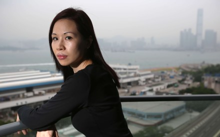 Mother of two Emily Seah believes all schools should be closed when pollution reaches serious levels. Photo: Xiaomei Chen
