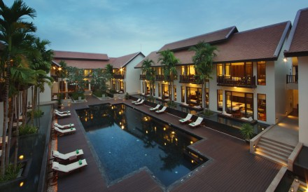 Designed in the style of a traditional Khmer villa, the hotel near Siem Reap is a welcoming work in progress