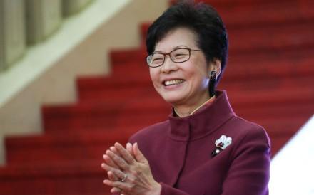 news hong kong politics article outgoing chief executive leung carrie talk