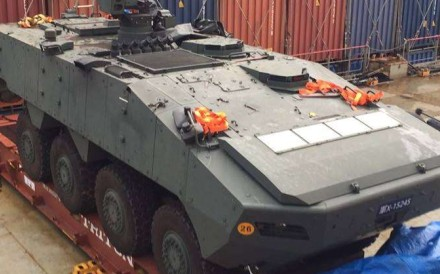 The remarks counter media reports of the seized armoured infantry carriers being returned to island nation