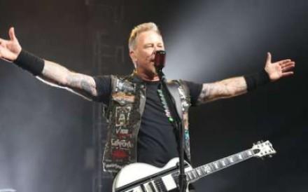 Metallica frontman James Hetfield. Photo: Jarrod Watt