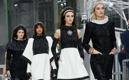 Chanel's autumn-winter 2017 collection at Paris Fashion Week