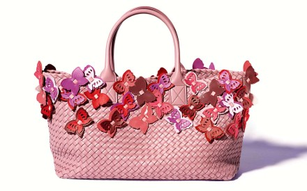 Bottega Veneta launches limited-edition butterfly collection.