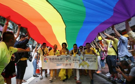 The 2015 Hong Kong Pride Parade. Pictures: SCMP