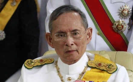 The cremation of Thailand's late king Bhumibol Adulyadej will take place on October 26, just over a year after his death plunged the country into deep mourning. File photo: AFP