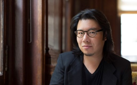 Author Kevin Kwan, whose new book Rich People Problems (published by Doubleday) was released on May 23.