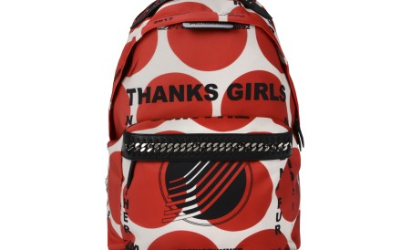 Stella McCartney Sport Surf printed eco nylon backpack.