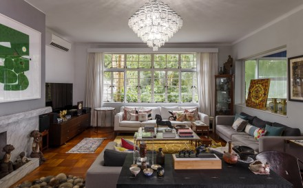 The 5,000-plus sq ft home of Hong Kong interior designer Laura Cheung, her siblings and their parents pays homage to the colonial era as well as its occupants' varied tastes as antiques, heirlooms and art add splendour