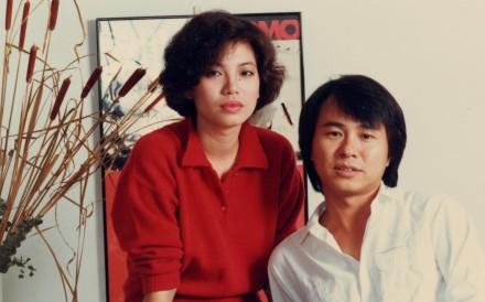 Tsai Chin and Hou Hsiao-hsien in Taipei Story.