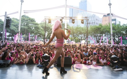 The Pink Dot event is a show of support for the LGBT community in Singapore. Photo: Rachael Ng/Pink Dot.