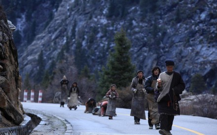 A still from Zhang Yang's Paths of the Soul, which has become the highest-grossing Tibetan-language film screened in China.
